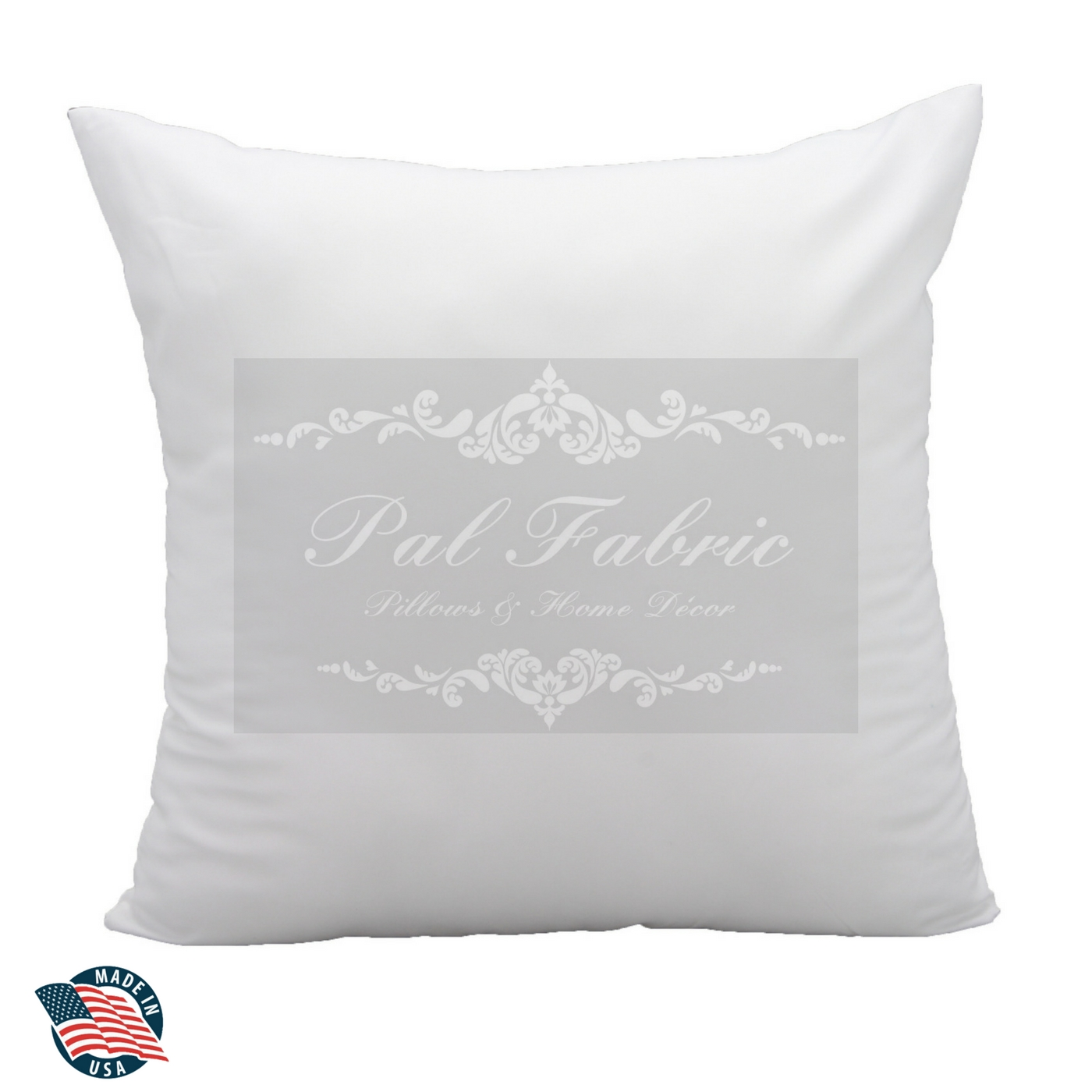 Made in USA New Pillow Insert Form Square Euro Premium ALL SIZES!